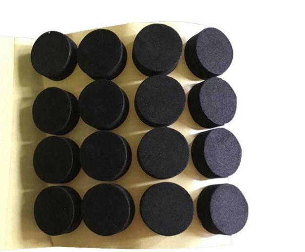 厂家直销EVA泡棉垫 单面背胶EVA脚垫 防滑减震EVA泡棉垫加工