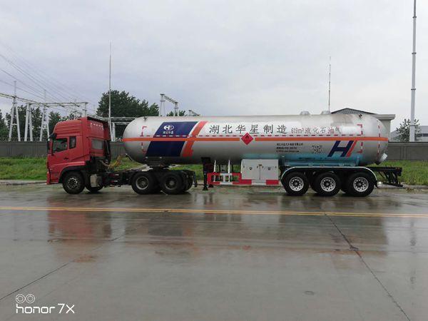 液化气半挂车结构及配置