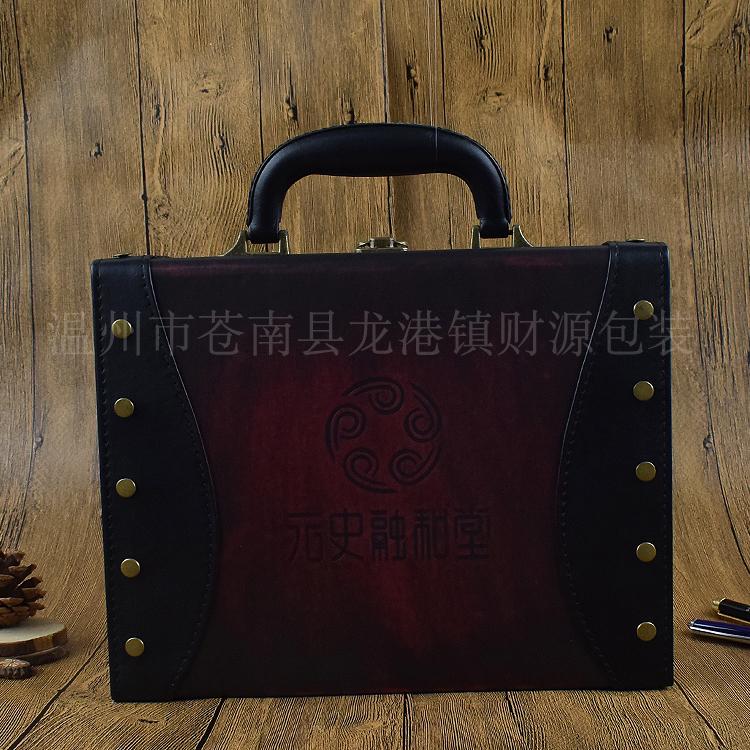 供应尊贵礼品包装手提箱定做高档收藏玉器包装礼盒陶瓷玉石包装礼品箱 尊贵礼品包装手提箱