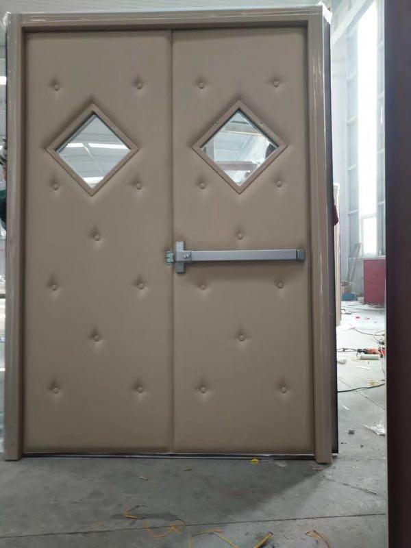 对开隔音门 钢质对开隔音门 木质对开隔音门 软包对开隔音门 圆玻对开隔音门