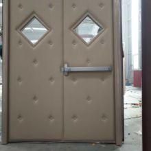 对开隔音门 钢质对开隔音门 木质对开隔音门 软包对开隔音门 圆玻对开隔音门厂家图片
