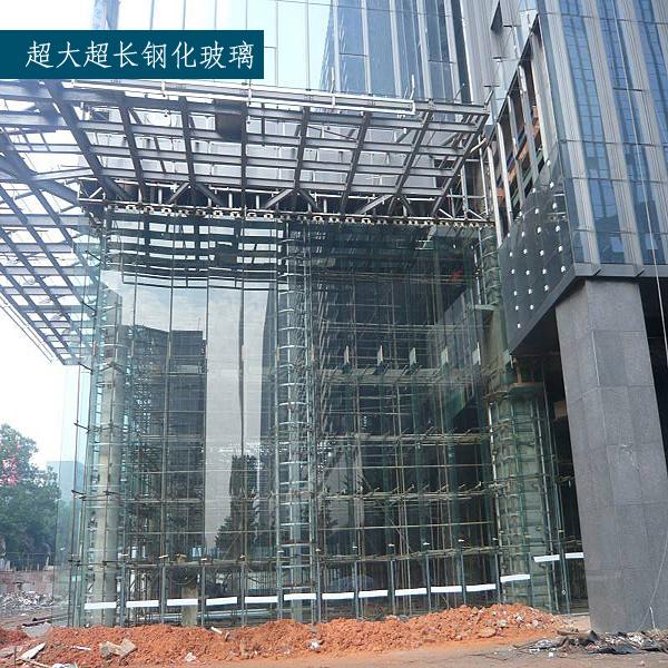 卓越特种玻璃 超大超长钢化玻璃