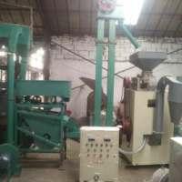 成套稻谷碾米机自动化生产