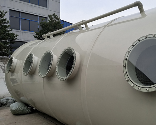 10000风量喷淋塔_专业生产废气净化塔 pp喷淋塔