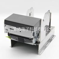 80MM嵌入式带切刀热敏打印机 景区门票金融打印机黑标打印