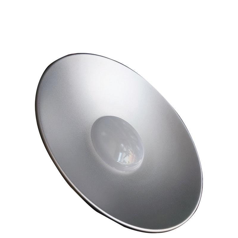 大功率工矿灯 珠海车间贴片带罩防水顶棚灯 照明厂家供应铝压铸100w工矿灯明纬电源普瑞芯片质保5年