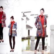 中年大码时尚女式羽绒服图片