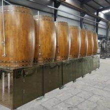 啤酒设备橡木桶发酵罐自酿啤酒设备 啤酒设备1000升橡木桶发酵罐图片