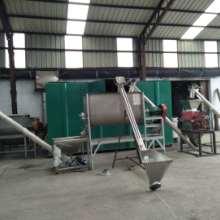 成套化肥生产线粉碎搅拌包装机
