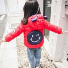 儿童棉服批发背口袋款童棉衣厂家直供图片