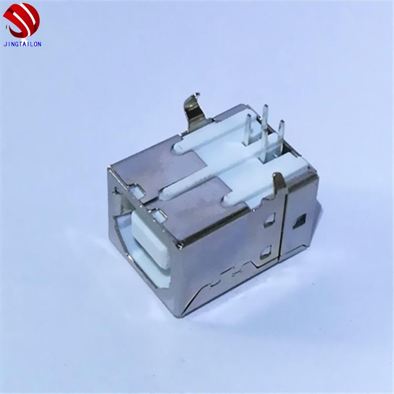 优质USB B母90度厂家报价 打印机B母供货商热卖哪里好