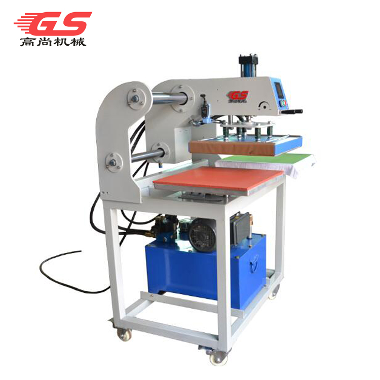 厂家供应38*38液压双工位烫画机印花机烫压机热转印机