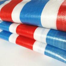 现货彩条布 双膜加厚防雨防水防尘围挡布 厂家直销批发