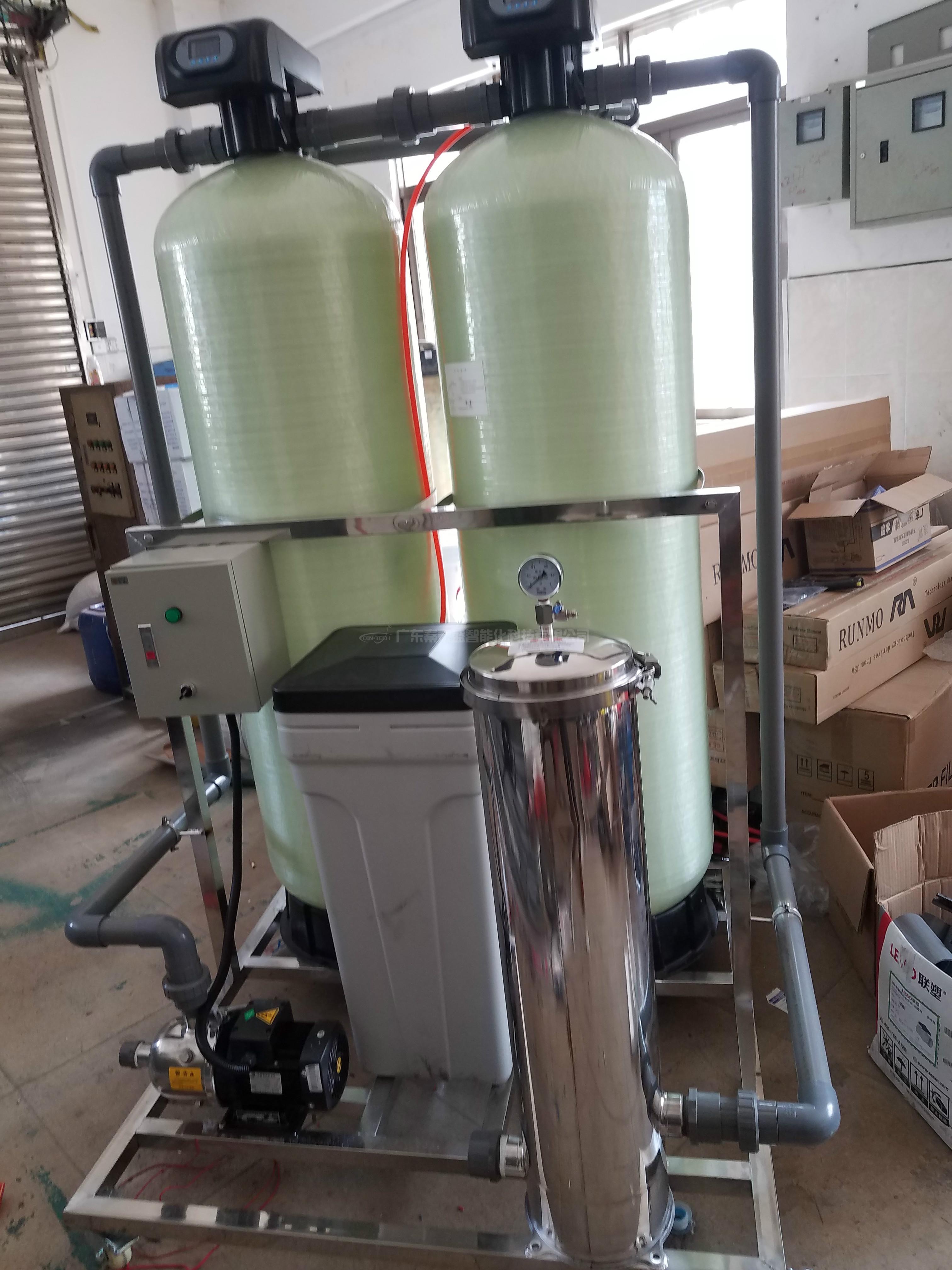 20t全自动锅炉软水处理设备 社区取暖水软水设备 厂家定制