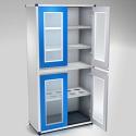 实验室专用铝木-器皿柜图片