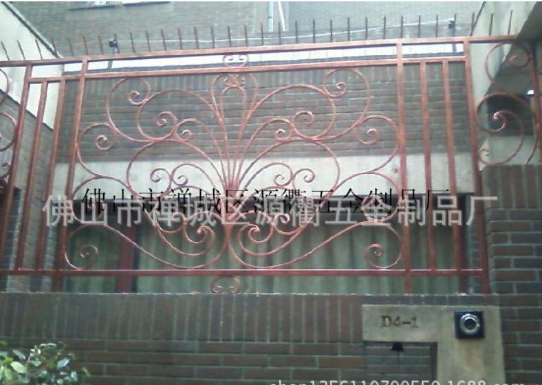 阳台铁艺护栏 顺德栏杆配件,顺德栏杆配件件供应商,佛山楼梯扶手铁艺配件,顺德栏杆配件艺配件