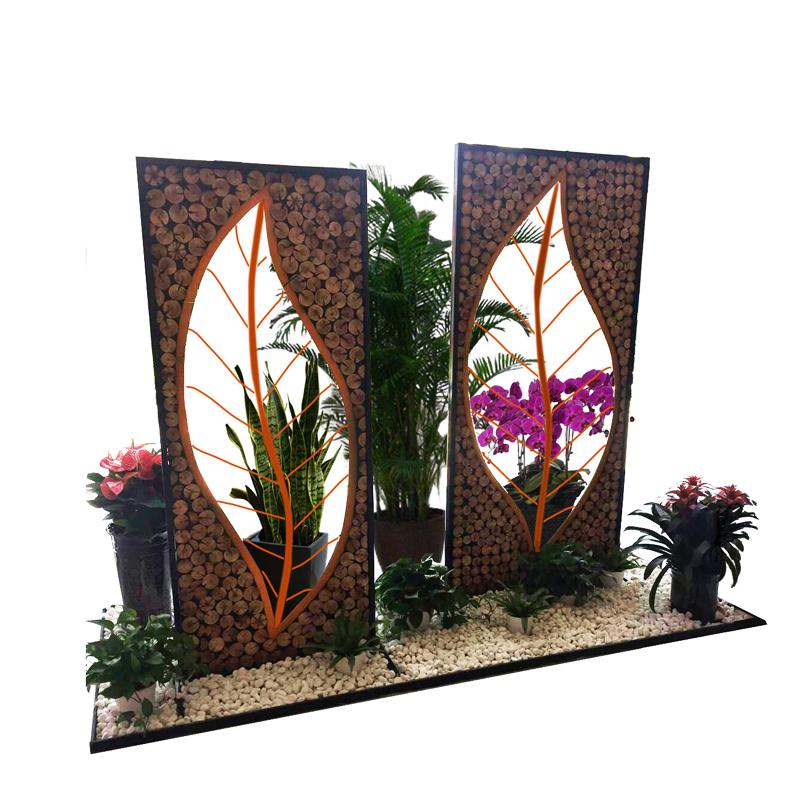 广州市花艺组合造景价格 广州组合盆栽设计 广州造景植物出租