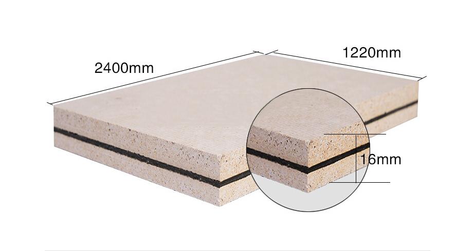 深圳16mm玻镁板复合阻尼隔音板|中低频简易隔音板中低频简易隔音板