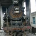 废旧蒸汽火车图片