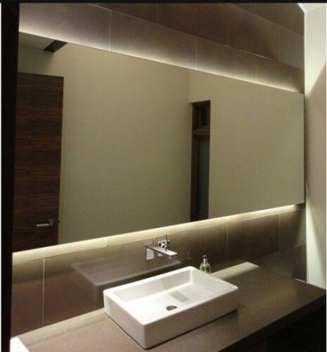 浴室镜带led灯光触摸壁挂简约洗手间卫浴圆形挂镜卫生间镜子 圆镜 圆形镜