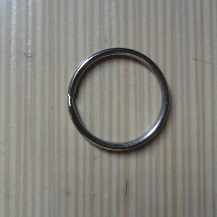 东莞专业生产环保铜钥匙圈工厂 电镀金色钥匙扣 优质铁钥匙圈