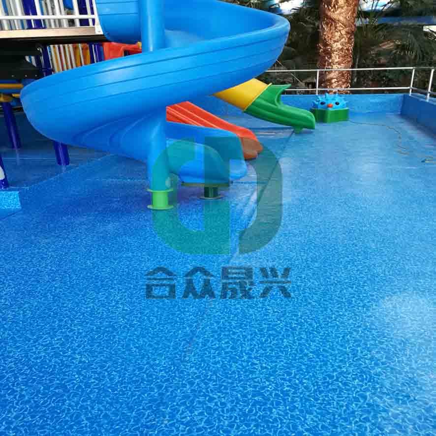 儿童戏水池维修马赛克纹老旧游泳池改造