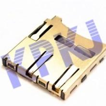 TF内焊自弹卡座SD卡座SIM卡座批发