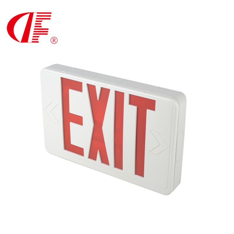 美规安全出口指示灯,UL标准疏散方向应急灯,3W3小时