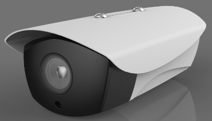 厂家直销防水枪机 黑光IPC网络摄像头