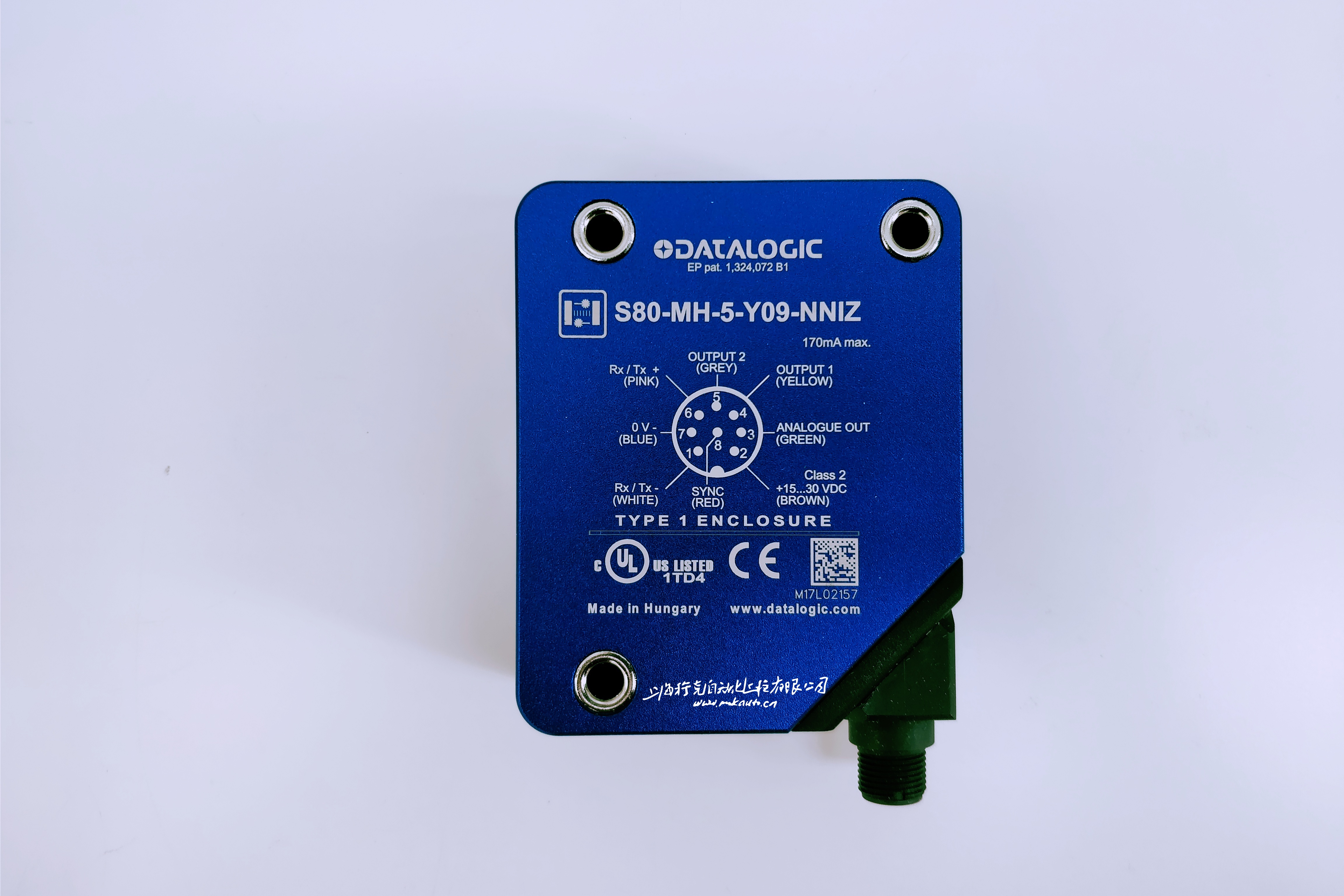 光电开关measurement S80-MH-5-Y09-NNIZ意大利Datalogic特价现货 激光测距传感器