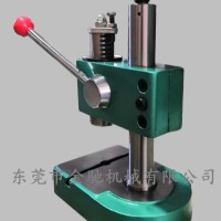 供应精密手动压力机 冲压裁切压制压装冲孔机小型轴承压装校直压力机