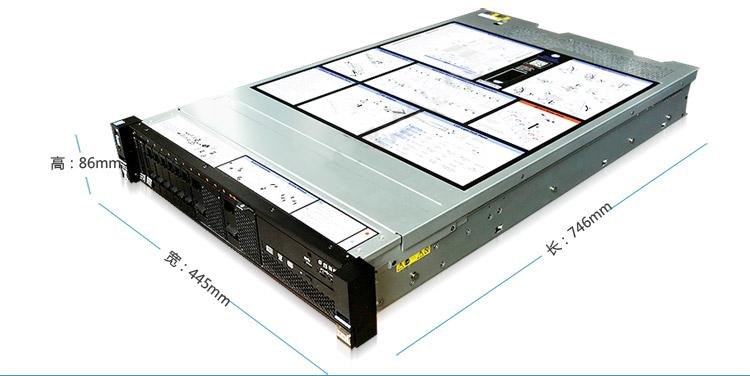 联想IBM X3650M52U机架式服务器 可根据客户要求订制 联想/IBM-X3650M52U