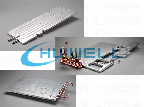【研发定制】高端高性能芯片电阻电容电感变压器件冷却水冷液冷散热器片热管铝铜散热模块模组组件