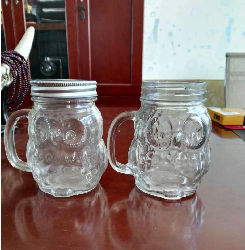 500M高档晶白料高白料玻璃瓶洋酒瓶空酒瓶厚底威士忌酒瓶烫金烤花深加工工艺江苏厂家