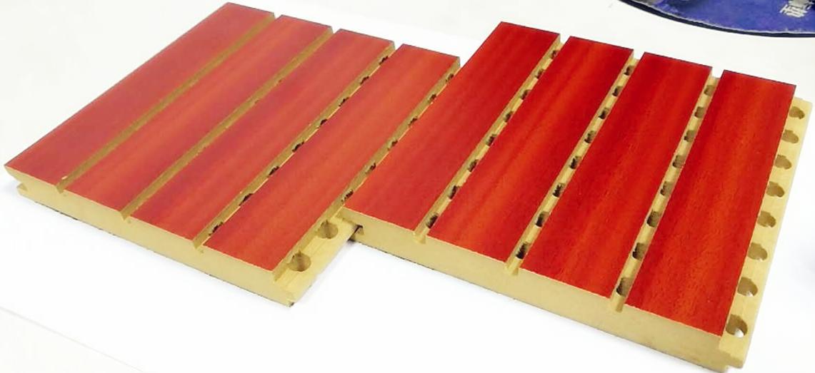 踏普木质槽木吸音板|会议室教室多功能厅吸声降噪|演播厅槽木吸音板