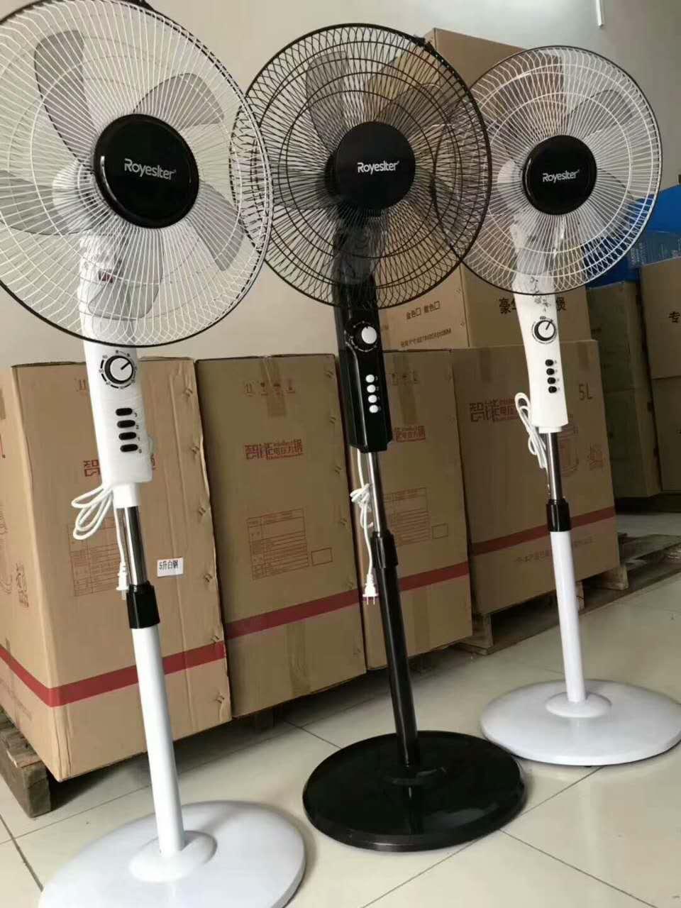 工厂直销16寸家用落地式电风扇 定时摇头大风量电风扇礼品