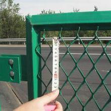 钢板网护栏厂家 高速公路用防眩网 桥梁钢板网护栏批发