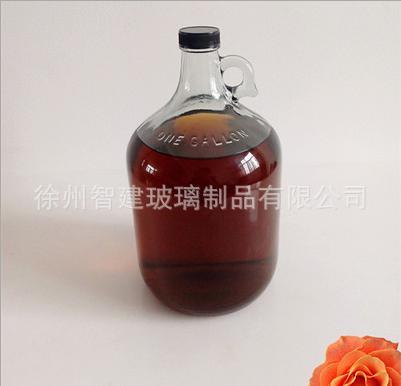 葡萄酒瓶 批发美国加州款葡萄酒瓶 自酿容器密封玻璃药酒泡酒瓶带1斤-10斤