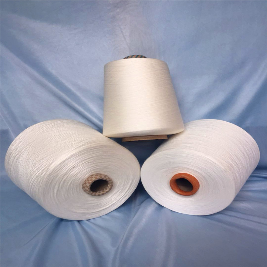 供应涡流纺涤纶纱20支30支40支 优质全涤纱25支