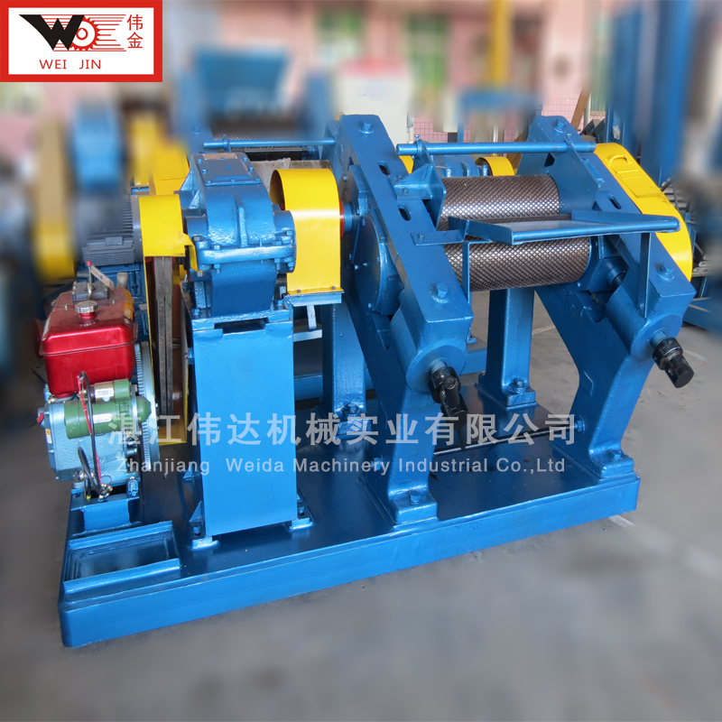 标准胶加工设备 结构紧凑的绉片机 湛江伟达机械供应