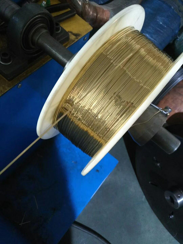 H65黄铜线 打铆钉黄铜线 插头黄铜扁线