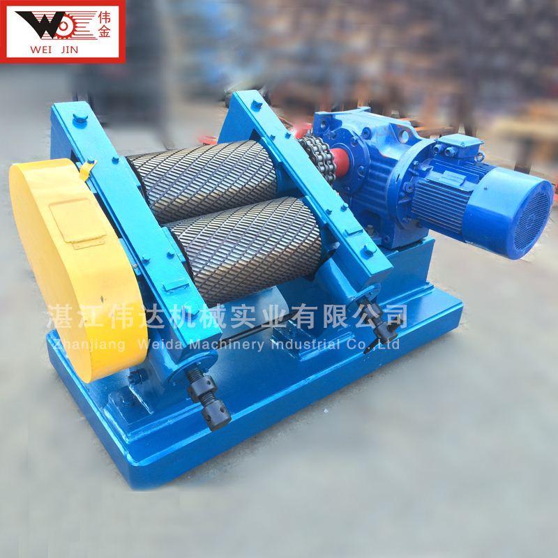 标准胶的制作设备 橡胶挤水机绉片机  胶料加工工艺机 湛江伟达提供