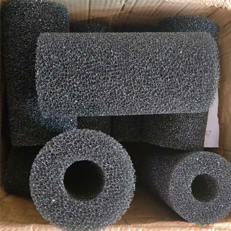 开孔处理过滤海绵 10*4*20CM防堵海绵管 支持定做