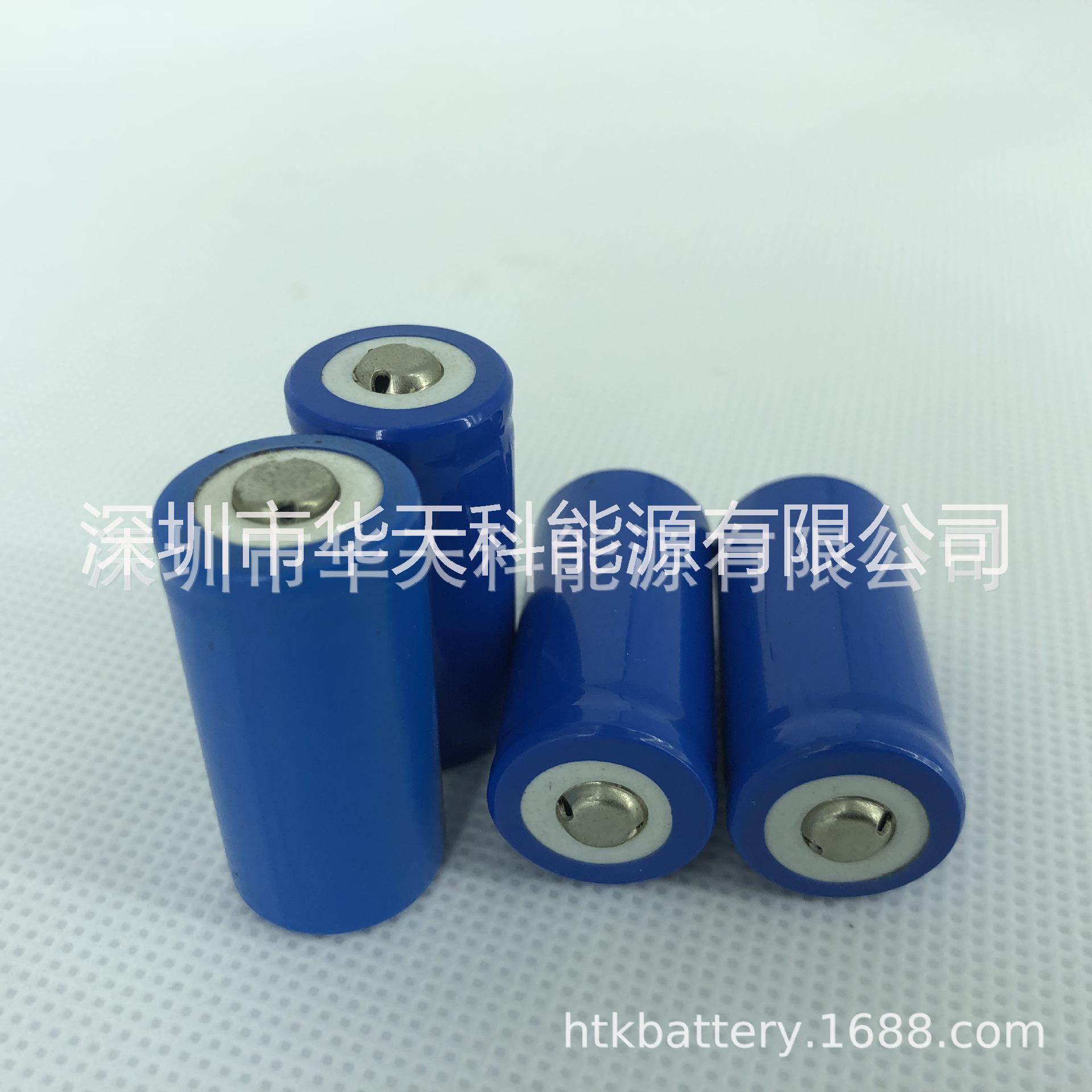 电动牙刷电池14250,16340,14500圆柱锂电池厂家直销 可定制