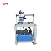 厂家供应小型压烫机服装无缝补胶机平面唛头商标高温印画