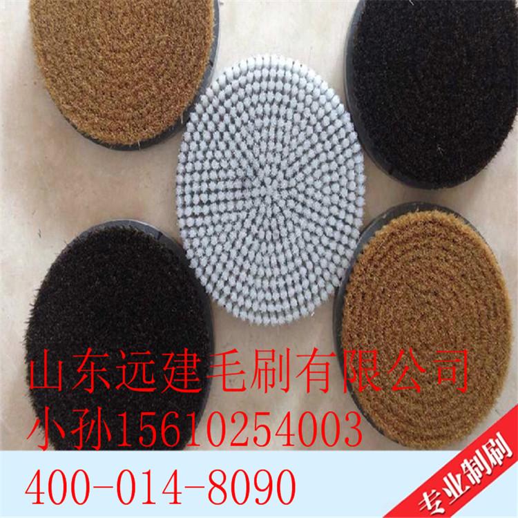 不干胶机圆形毛刷晒板机盘刷电木板圆盘刷环氧树脂板工业尼龙毛刷 圆盘刷工业尼龙毛刷