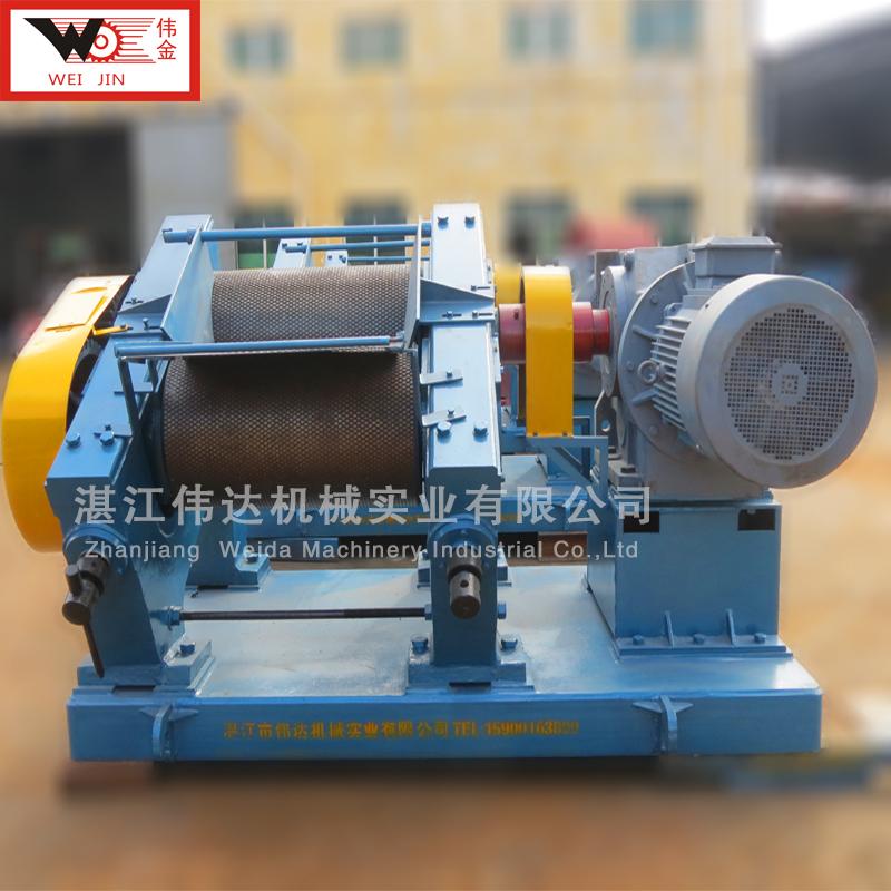 橡胶种植地区可用 除杂质 压平橡胶 标准胶的绉片机
