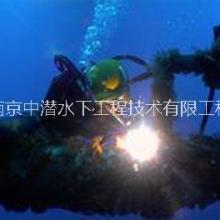 南京中潜水下光缆铺设 水下无损检测水下桩基加固管道疏通河道疏浚批发