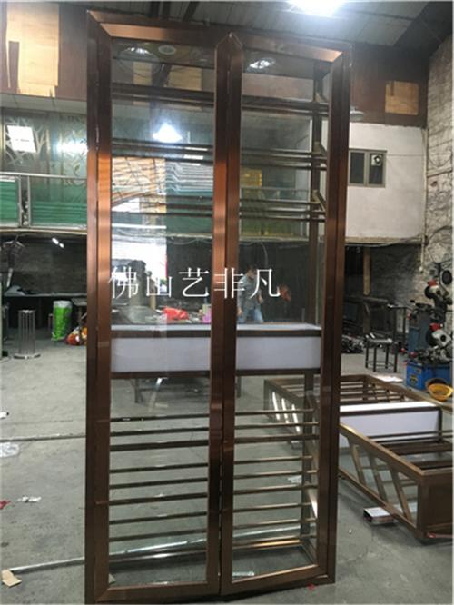 沈阳厂家定制 不锈钢酒柜 现代简约落地板架 多规格摆件板柜 餐饮专用 服务好 质量有保障