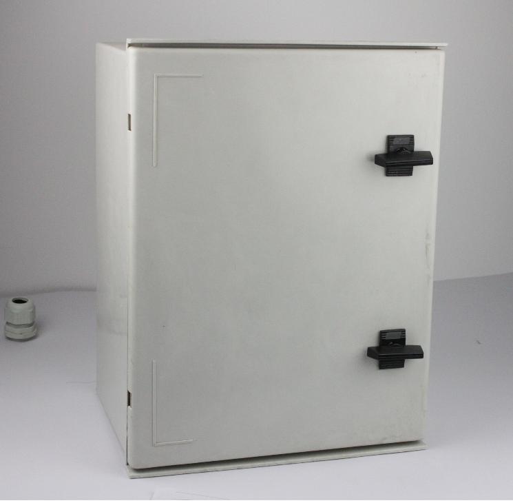 玻璃门高强度配电箱 IP66防水玻璃纤维箱400*300*200广东玻璃纤维箱 东莞SMC电箱